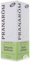 Huile essentielle Basilic Exotique Bio PRANAROM (Ocimum basilicum) - 10 ml
