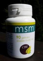 MSM : arthrose, foie, vitalité de CBE