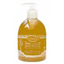Pouss savon d'Alep liquide 15% DE LAURIER ALEPIA