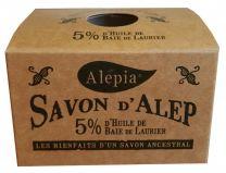 Savon d'Alep 5% de laurier ALEPIA